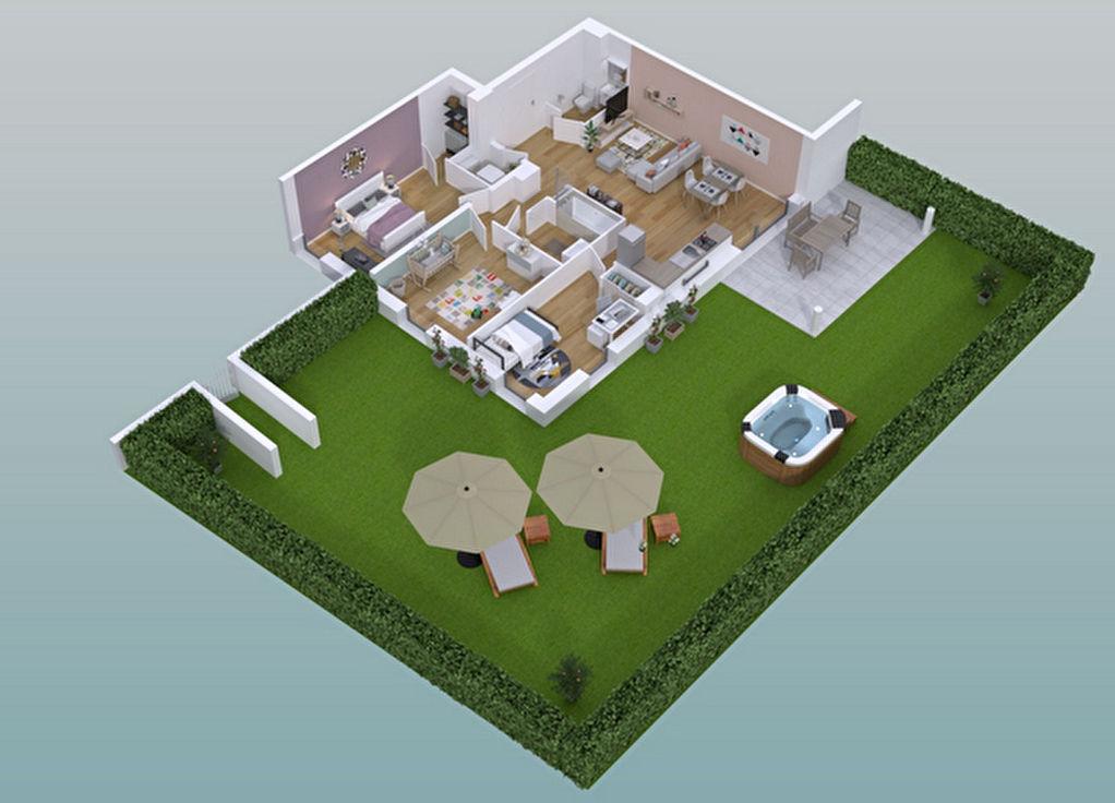 Appartement Guichen 4 pièce(s) 76 m2